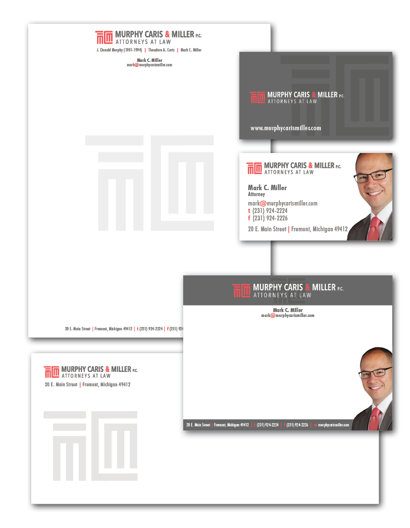 Law Firm Stationary and Logo
