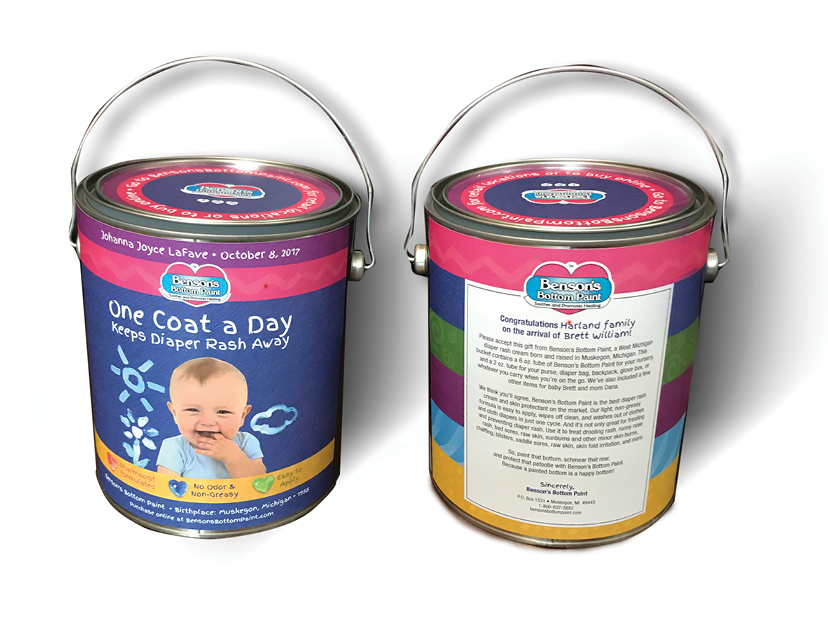 Paint Can Giveaways