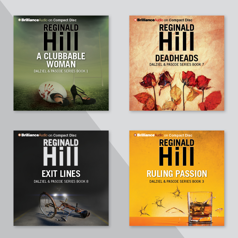 Mystery audio book covers