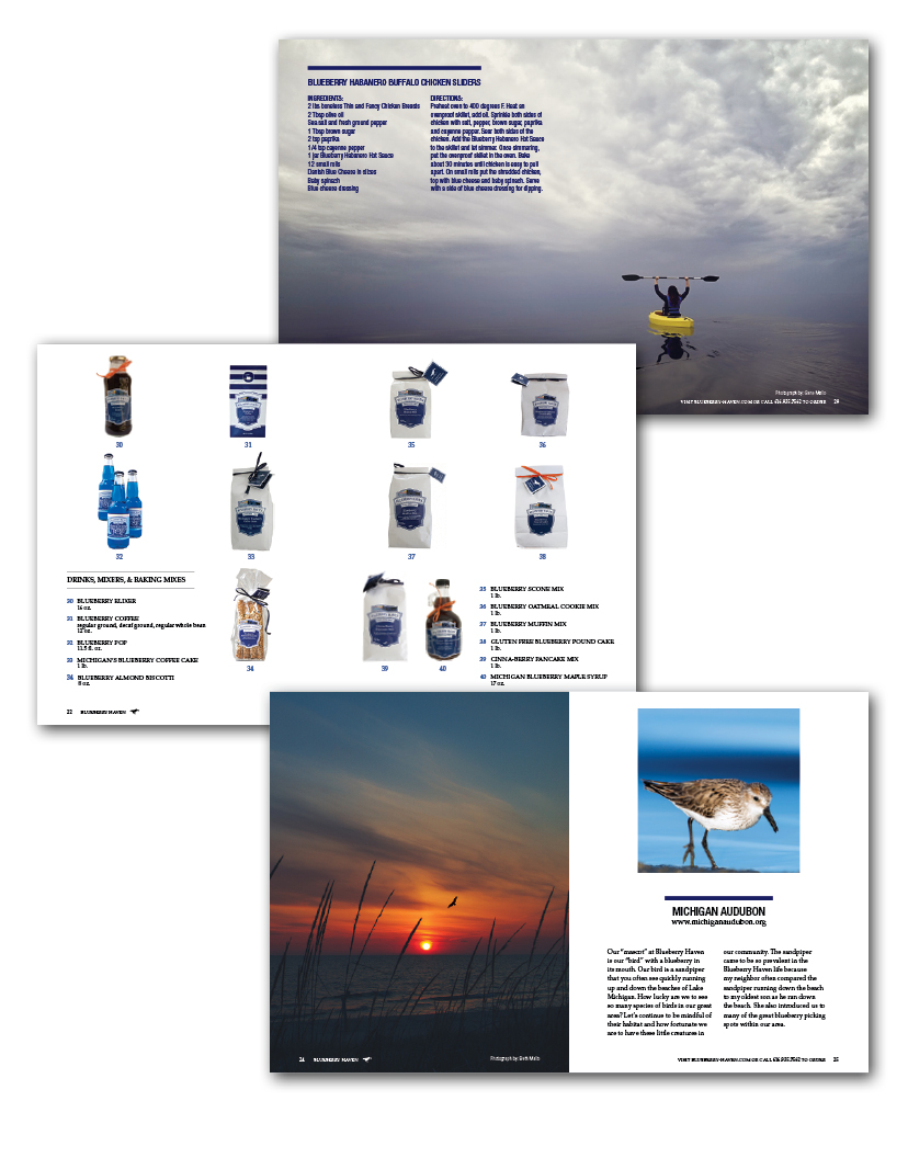 product packaging design and catalog design