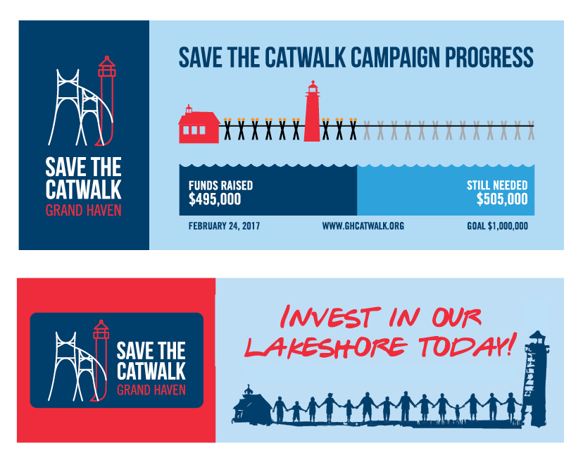 Save the Catwalk Banners